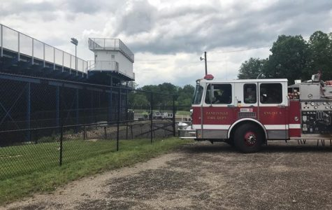 The Zanesville Fire Department and Muskingum County Emergency Management Agency are responding to a gas-line rupture in the vicinity of Zanesville High School.