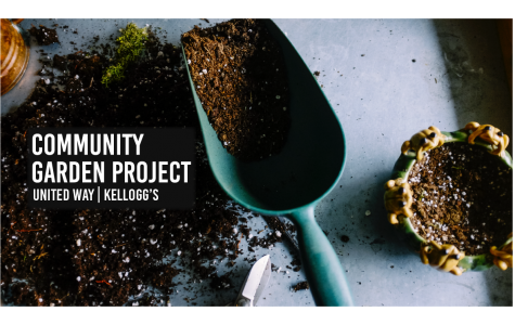 United Way, Kellogg's hosting Community Garden Project