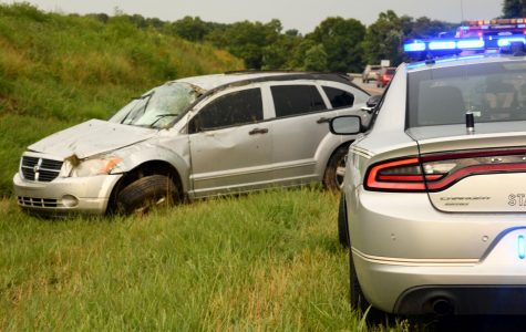 Woman and child injured in I-70 rollover