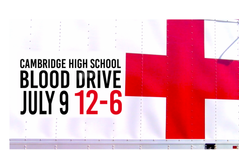 Blood Drive at Cambridge High School offering donor incentive