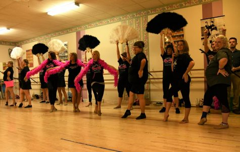 Local 'celebrities' and 'divas' dance together for charity