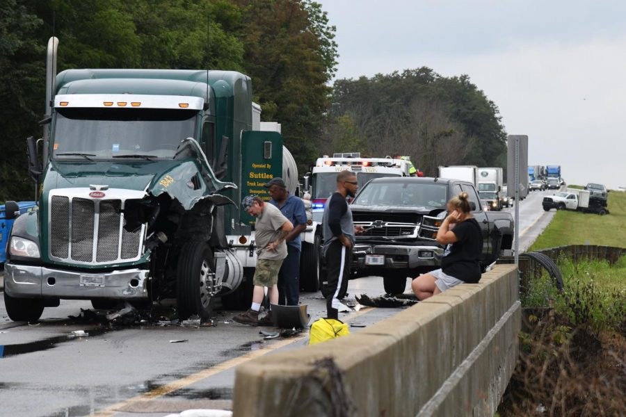 Multiple vehicle accidents on I-70 East – Y-City News