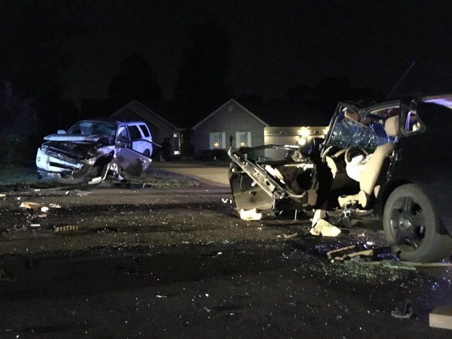 Two+seriously+injured+in+crash+on+Military+Road