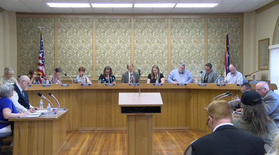 City Council Meeting on Monday, Aug. 13.