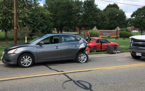 Multiple injured in four car crash near Zane State