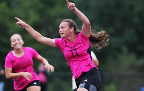 The Muskingum University women's soccer team were one of four teams for the university that were undefeated over the weekend. Credit: Muskingum Athletics Communications