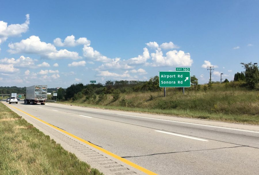 Portion of I-70 restricted to one lane for slip repair in Muskingum County