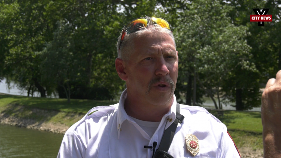 Fire Chief recognized for life-saving efforts