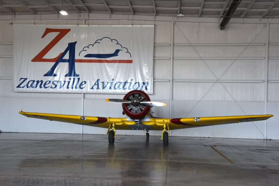 Wings and wheels assemble at airport