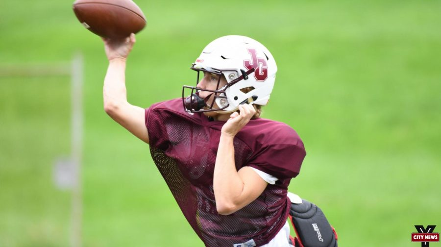 Evan Williams is poised for a big game both in the air and on the ground for the Muskies.