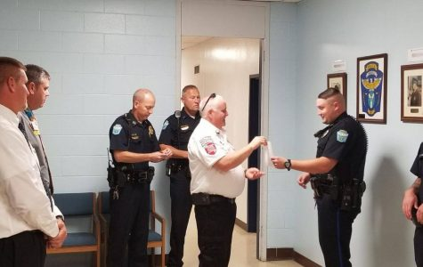 Zanesville Patrolman honored for saving a life