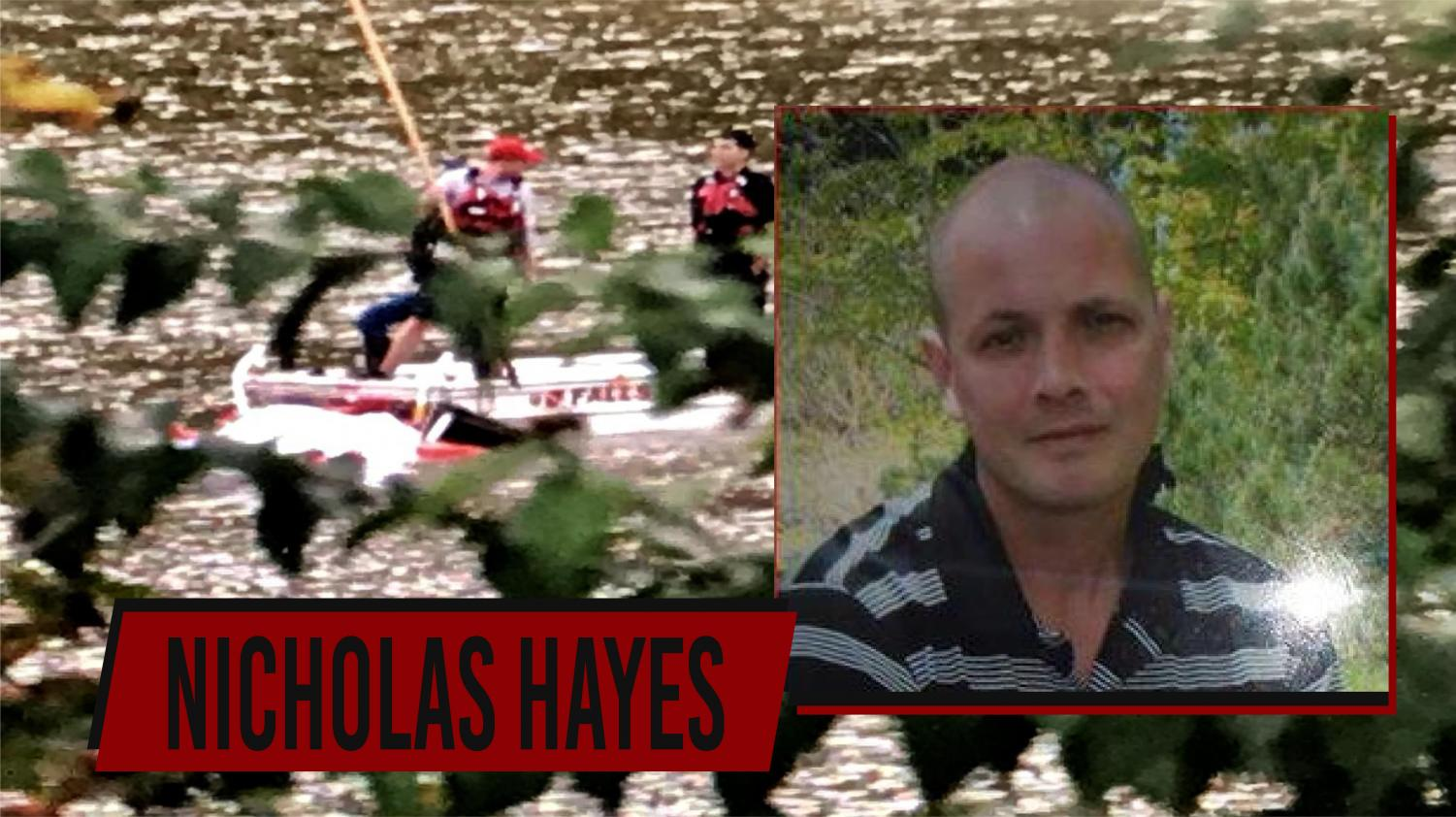 Nicholas Hayes was reported missing on Oct. 9.