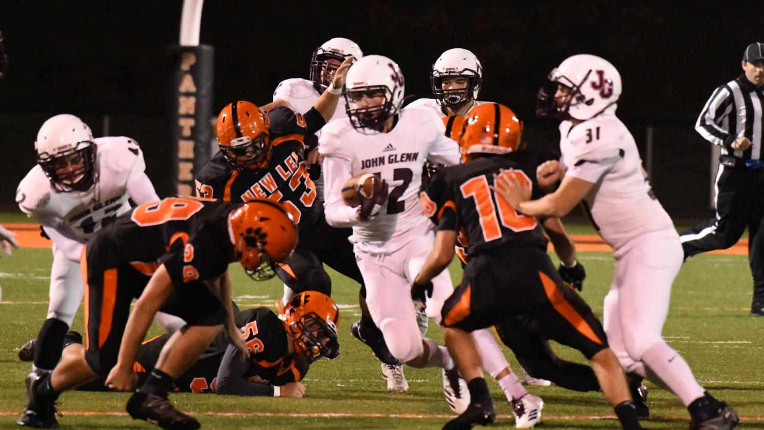 John Glenn solidified their playoff standing once again with their fifth-straight win.