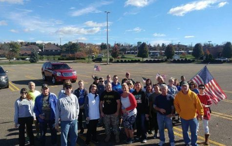 A photo of a previous March 4 Vets group. Photo provided by Justin Smith.
