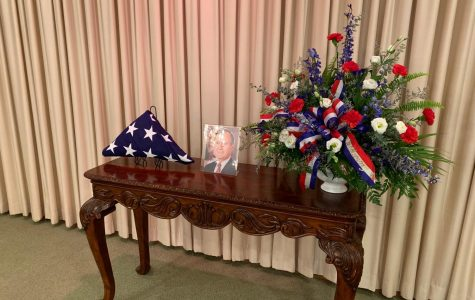 Snouffer Funeral Home honors late President Bush with ceremony