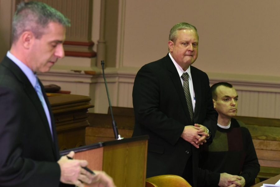 Muskingum+County+Assistant+Prosecuting+Attorney+Ron+Welch+responds+to+Defense+Attorney+Jeff+Blosser%27s+objection+to+having+the+five+previous+victims+testify+on+Thursday.