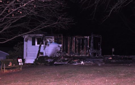 Arson suspect turns self in to authorities
