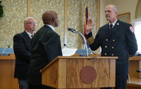 Bell sworn in as Zanesville Fire Chief