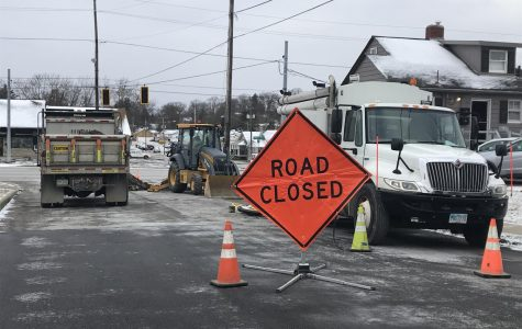 Taylor Street closed to Maple Avenue