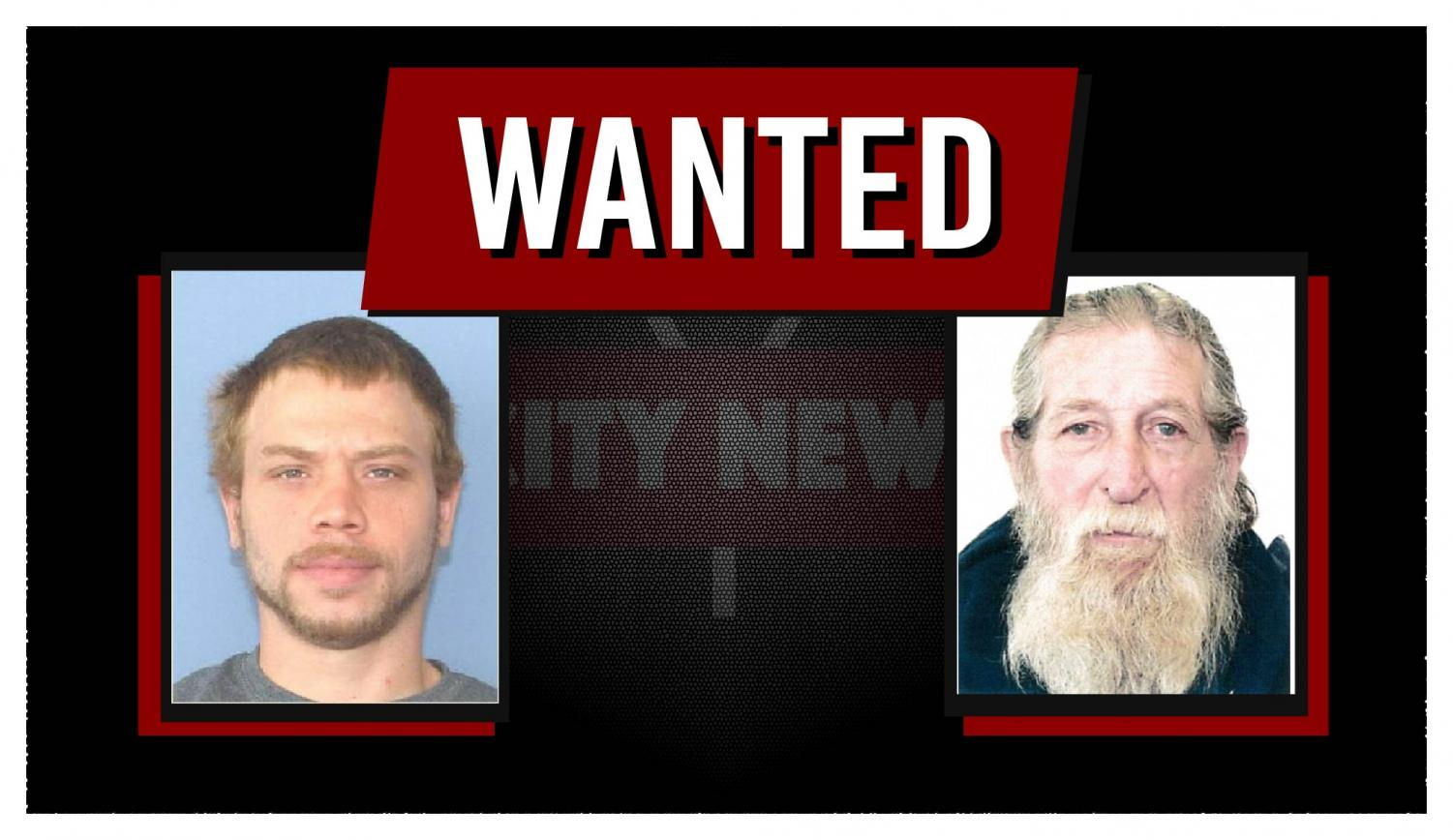 John Newman III (left), Morgan Davis (right) and Marcus Schultz (not pictured) have all been added to the Muskingum County Most Wanted List as of Wednesday afternoon.