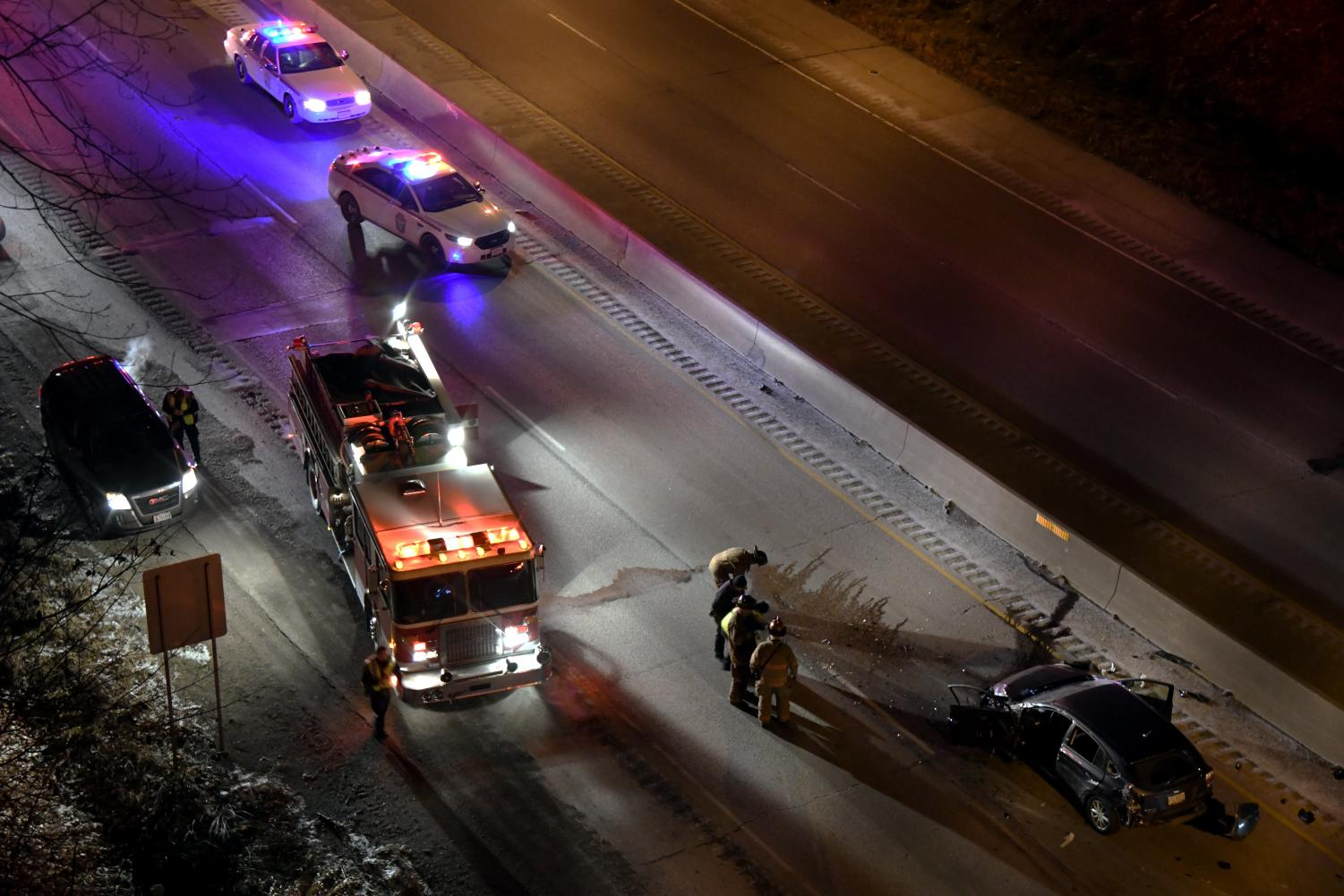 I-70 east reopened just after 8 p.m.