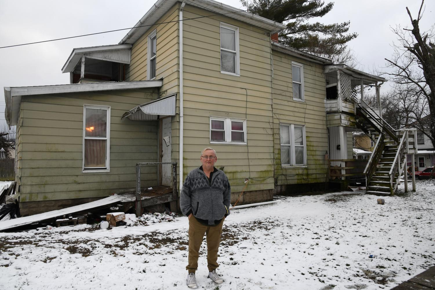 Clarence May has lived next door to a nuisance property for more than a decade. When the neighbors threw human waste out a side entrance, that was the breaking point for May.