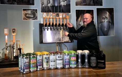 Ray Ballard, owner of Y Bridge Brewing, opened his taproom to the public in August 2017. Since his start, Ballard has released about 15 different beers.