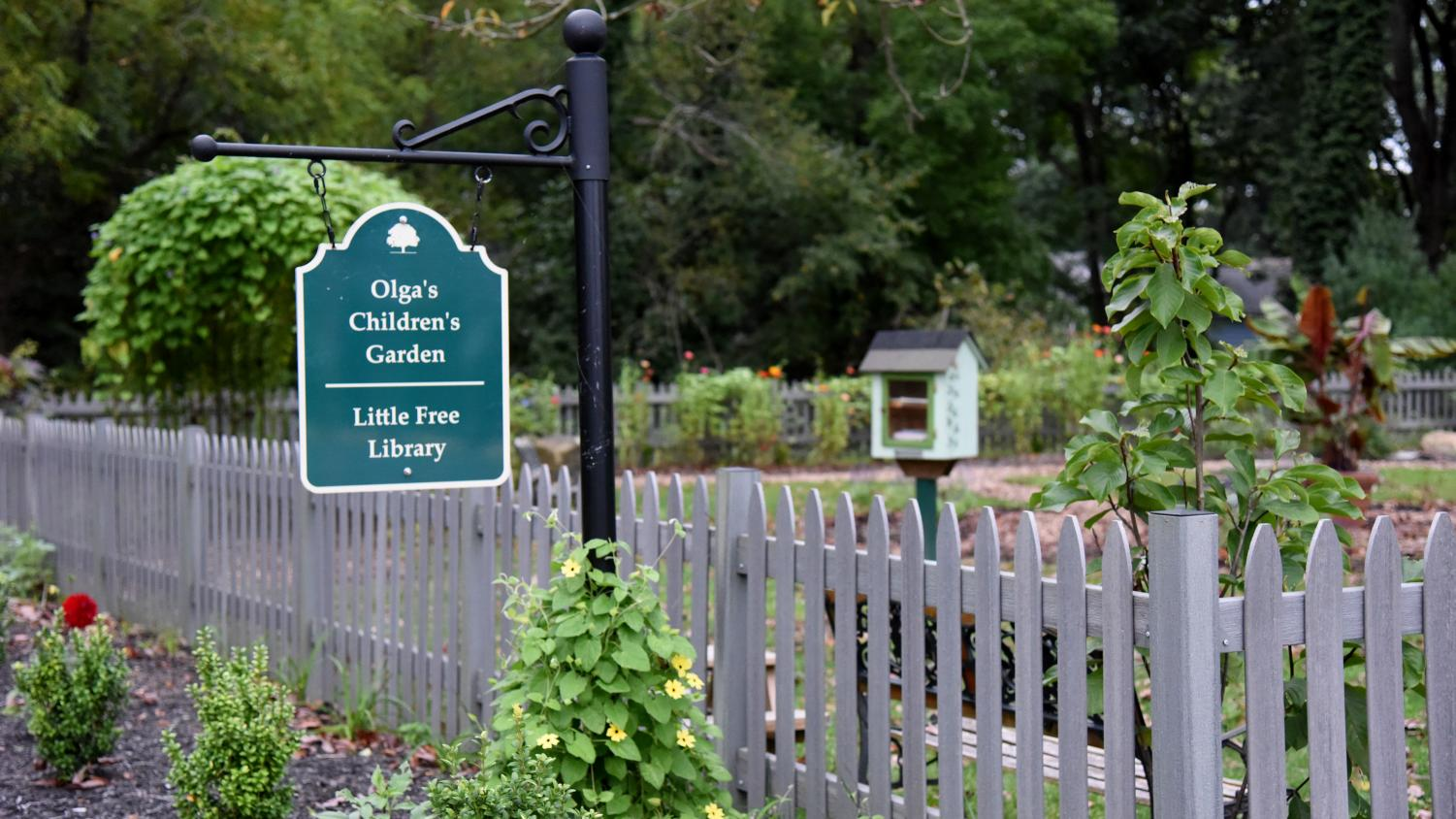 Olga's Children's Garden is located inside the Mission Oaks Garden, a Muskingum Valley Park District property, at 424 Hunter Ave. in Zanesville.