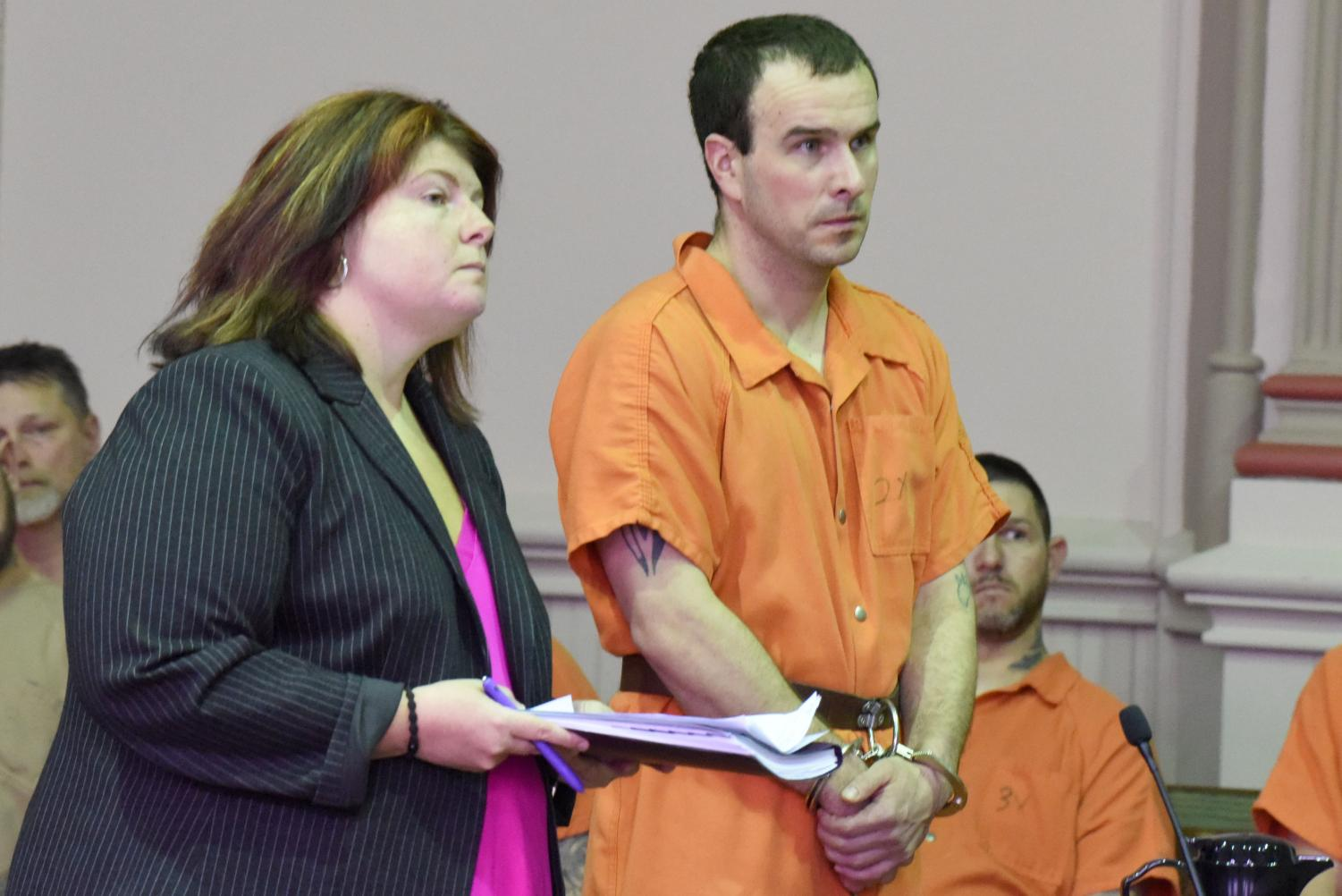 Stephen Niles Jr. pleads not guilty to charges related to a Dec. 9 arson investigation in Wayne Township.