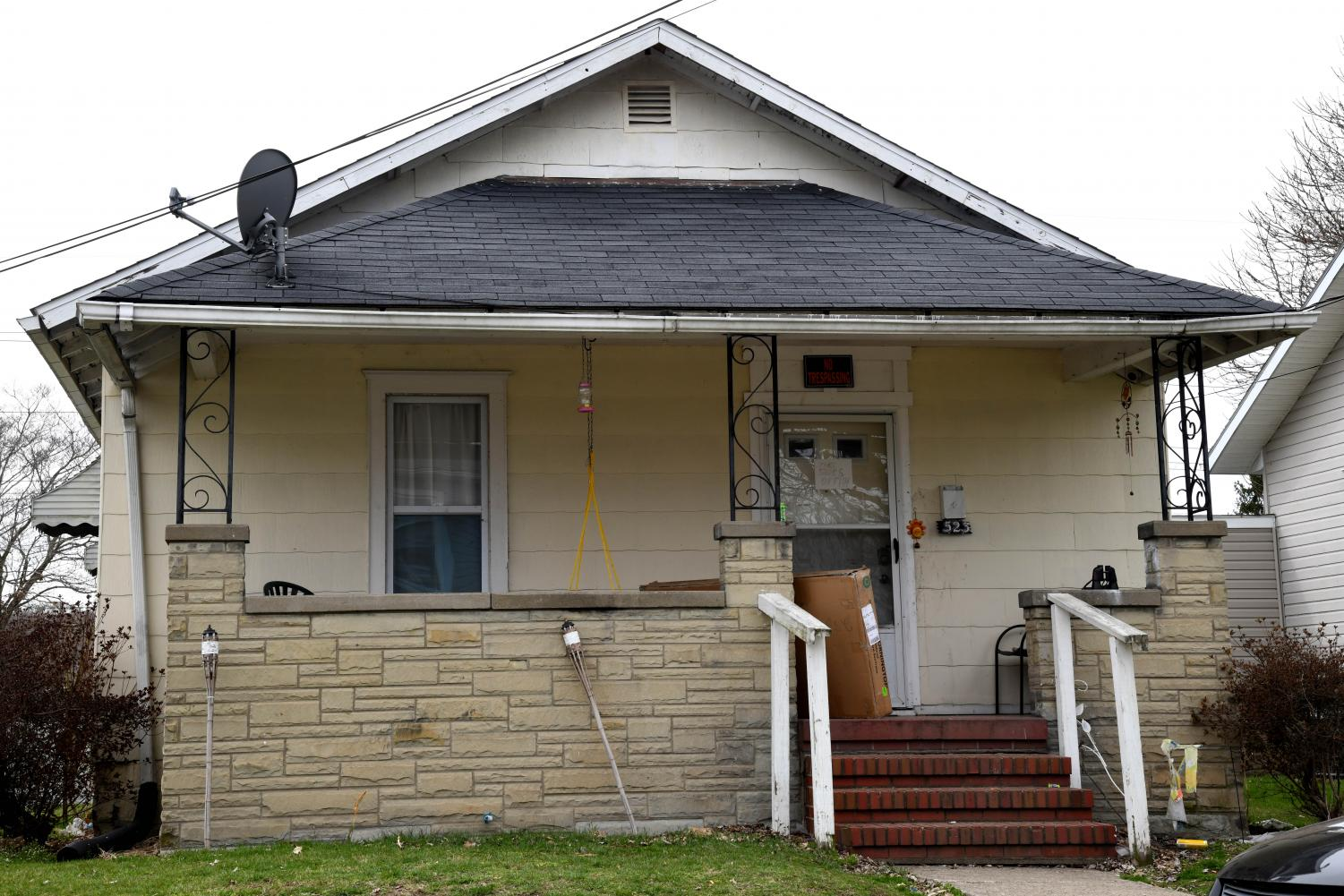 Personnel from the Zanesville Police Department were executing a search warrant at 523 Schaum Tuesday.
