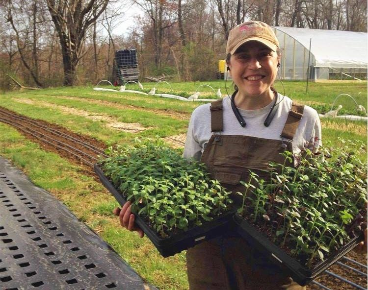 Lauren Ketcham co-owns and operates Down the Road Farm in New Lexington, Ohio in Perry County with Zachary Schultheis. She can be found at the Zanesville Farmers Market on April 20 at Weasel Boy Brewing and on select Saturdays at the Muskingum County Fairgrounds (May through October).