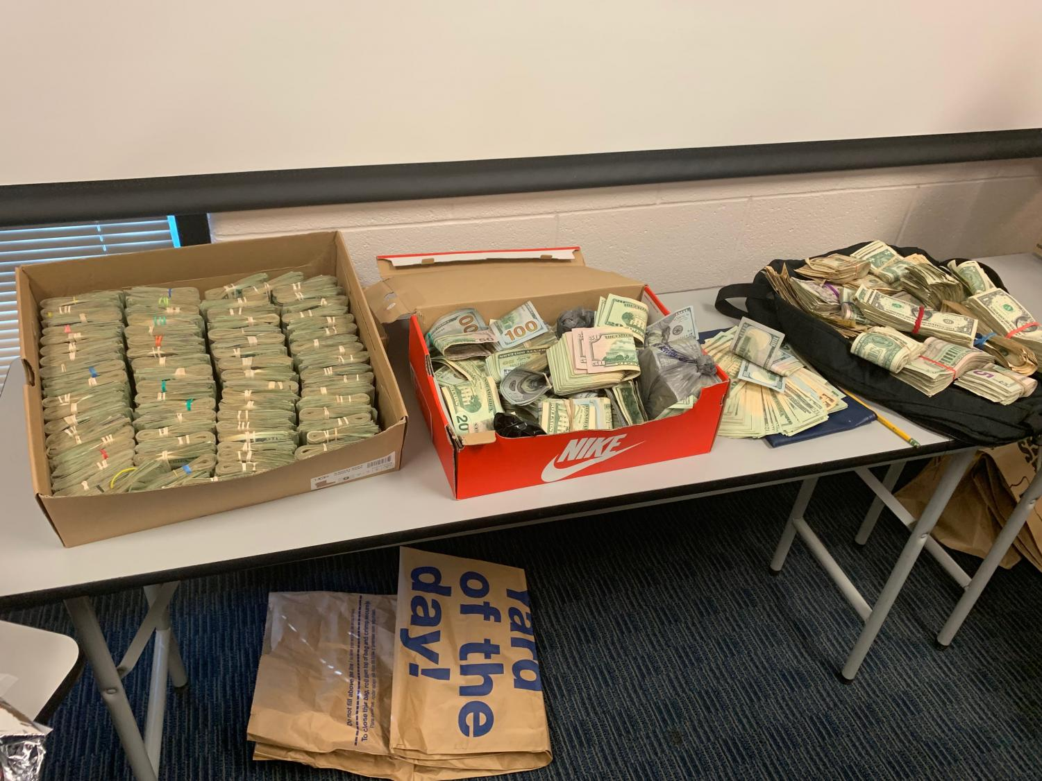As part of the investigation led by area law enforcement agencies, more than $160,000 was recovered.