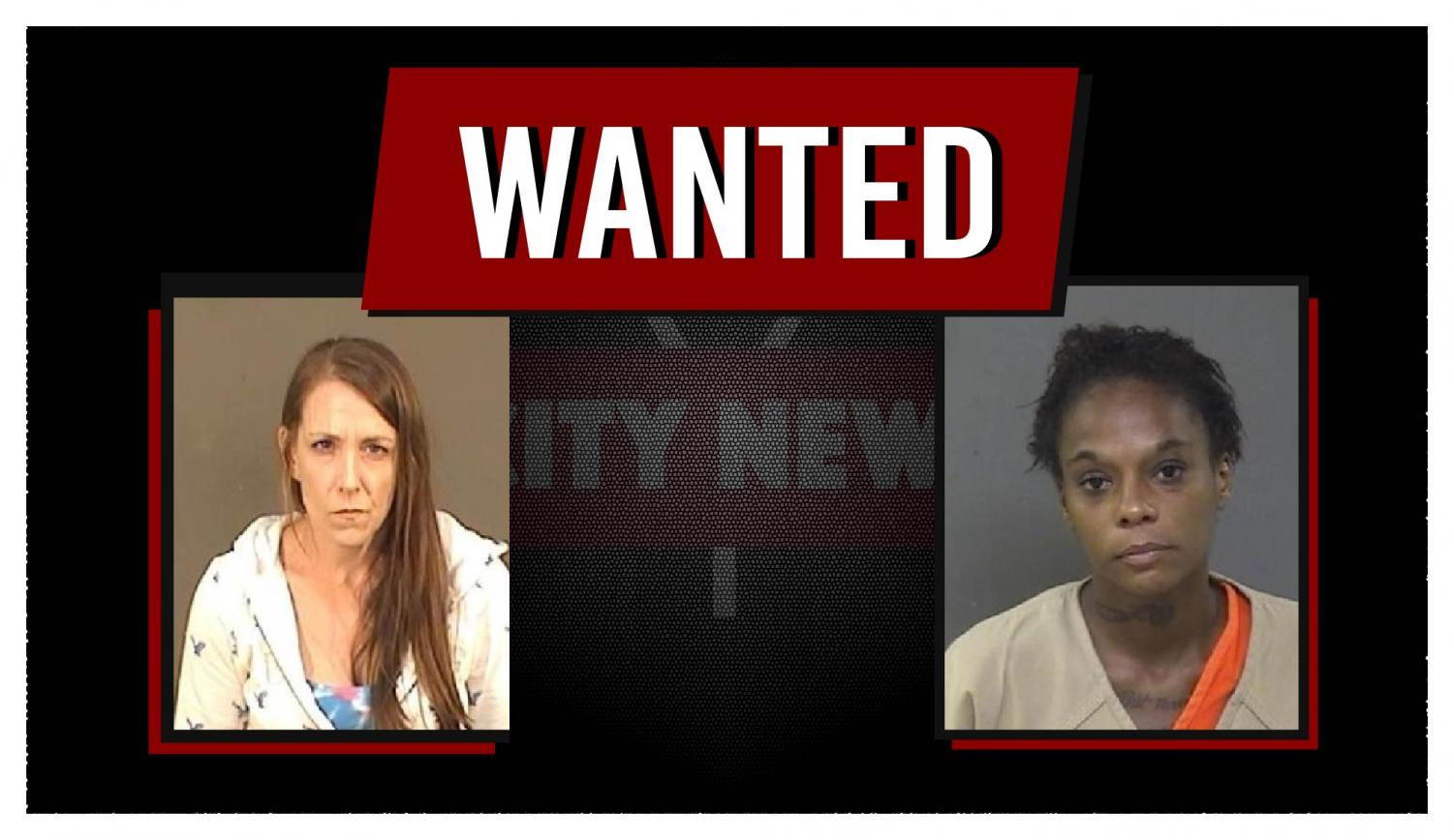 Traci King and Alisha Cooper have been added to the Muskingum County Most Wanted List. | Photos provided by the MCSO