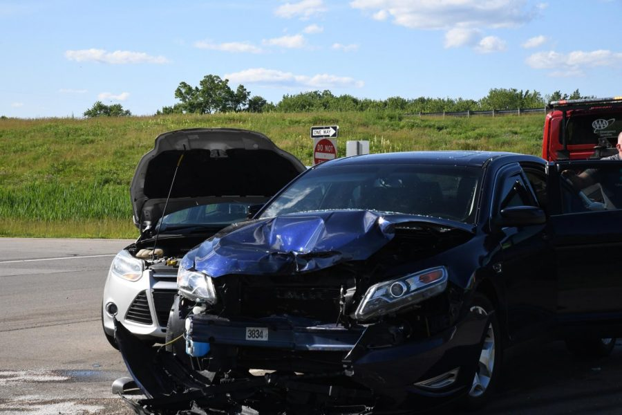 Driver ticketed after accident along SR-60 near Raiders Road Monday
