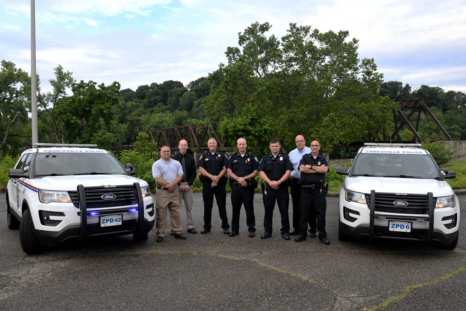 Cruiser 6 was introduced to the road today during day shift with the Zanesville Police Department. Cruiser 42, the new K-9 cruiser, is awaiting one last feature addition before it can hit the road.