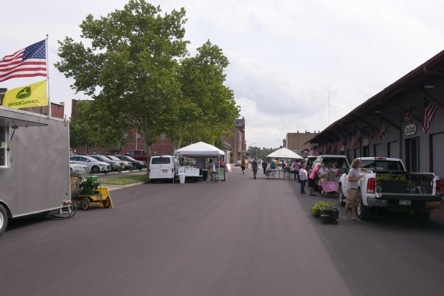 The+Zanesville+Farmers%27+Market+hosted+downtown+on+Wednesdays+is+moving+from+Third+Street+to+Fourth+Street.