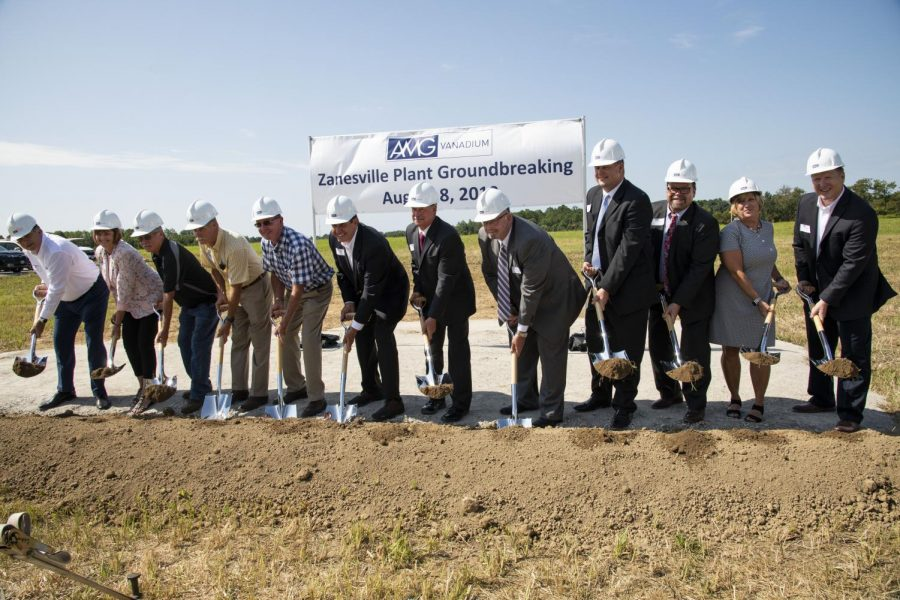 AMG+Vanadium+breaks+ground+at+Eastpointe+Business+Park