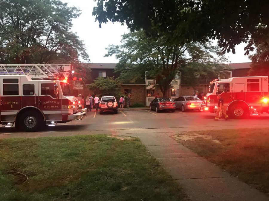 Mapleview+Terrace+Apartments+evacuated+for+kitchen+fire+Monday+evening