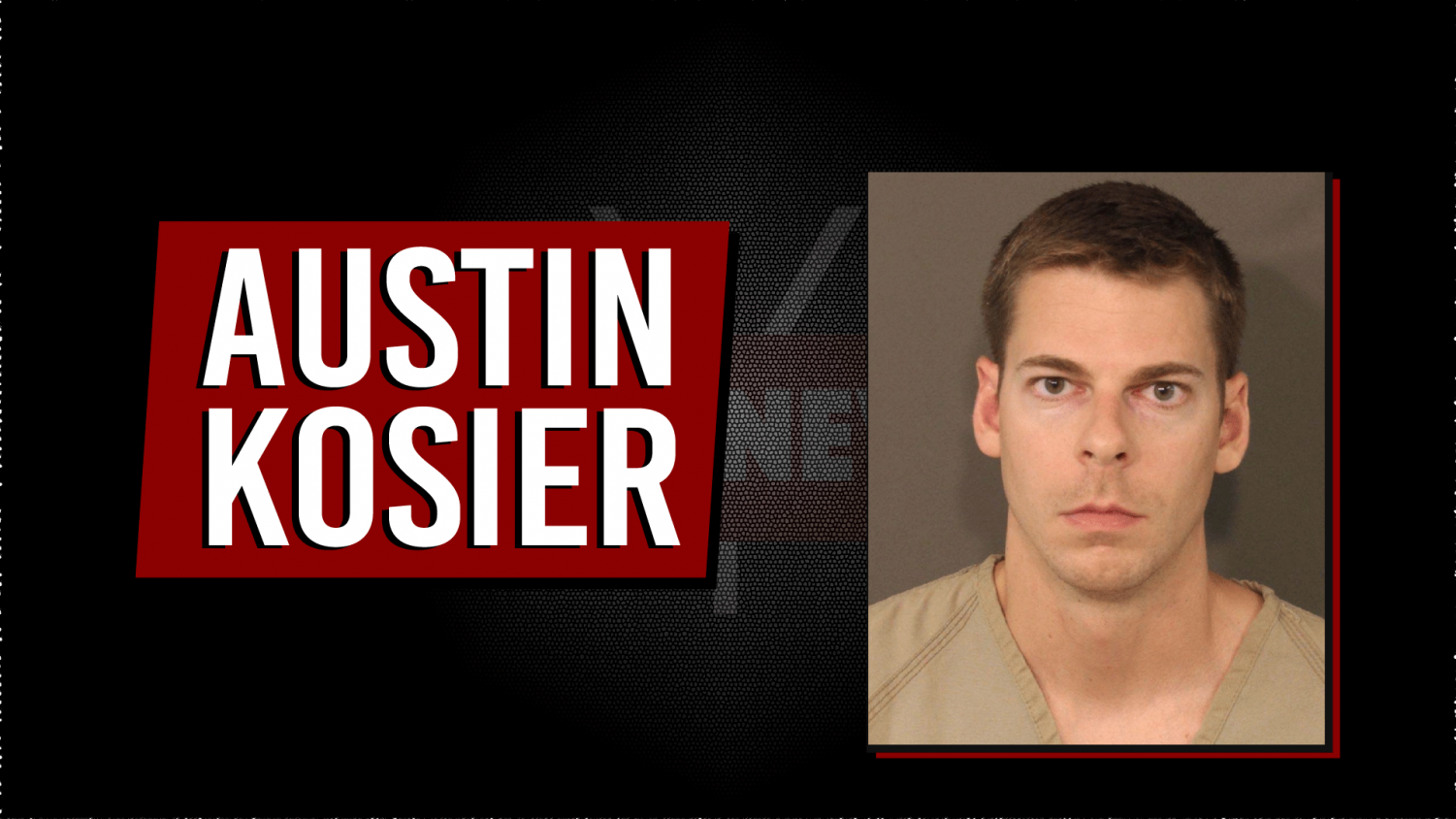 Austin Kosier's booking photo was provided by the Franklin County Sheriff's Office.