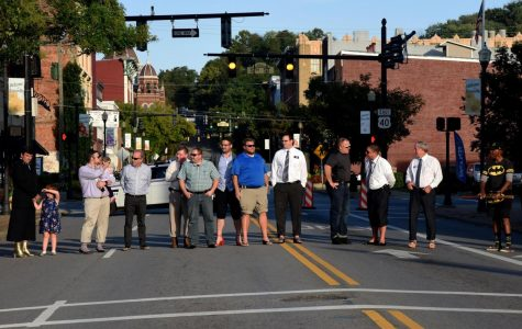 Teams organizing for 'Walk a Mile in My Shoes' benefiting domestic violence shelter