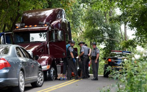 Multi-county semi pursuit ends in Coshocton