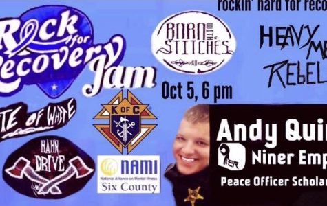 NAMI hosting third 'Rock for Recovery Jam'