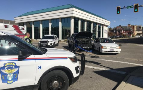 Traffic resumes following downtown collision