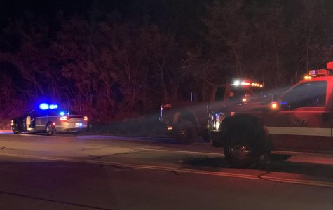 Pedestrian struck on US 40, driver flees scene