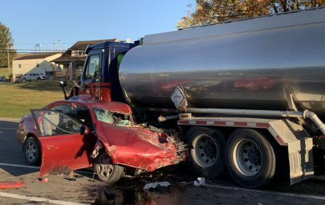 Man killed in crash involving fuel truck on U.S. 40 early Thursday morning