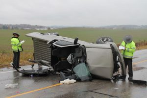 Rollover sends four to hospital in critical condition near Ash Meadows Saturday