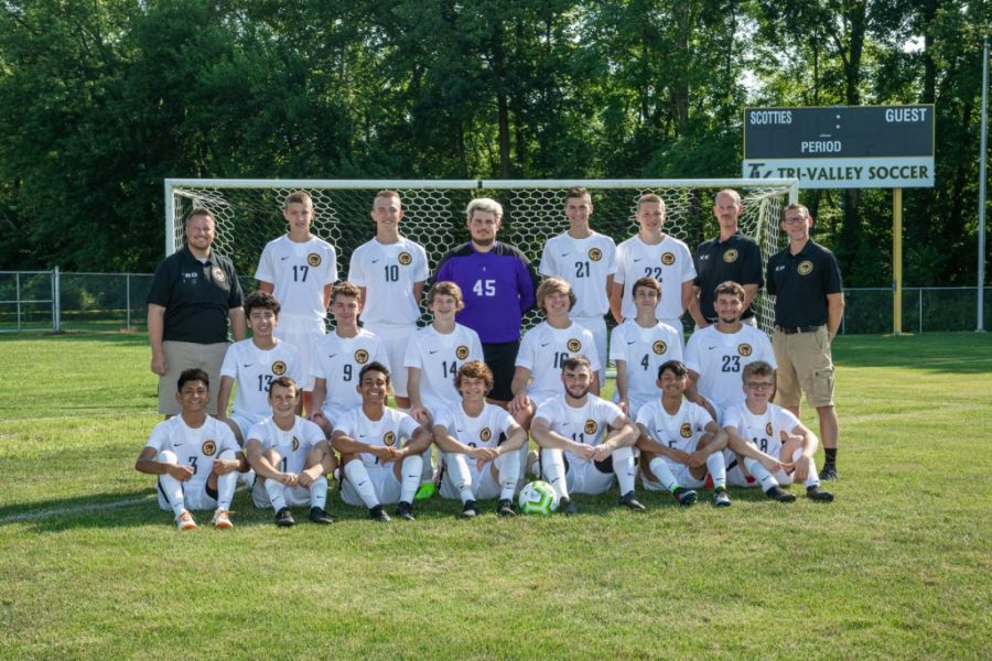A photo of the 2019 Tri-Valley Boys Soccer Team | Photo provided by the Tri-Valley Athletic Department