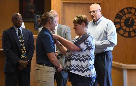Newest officer sworn into Zanesville PD marks second woman on current force