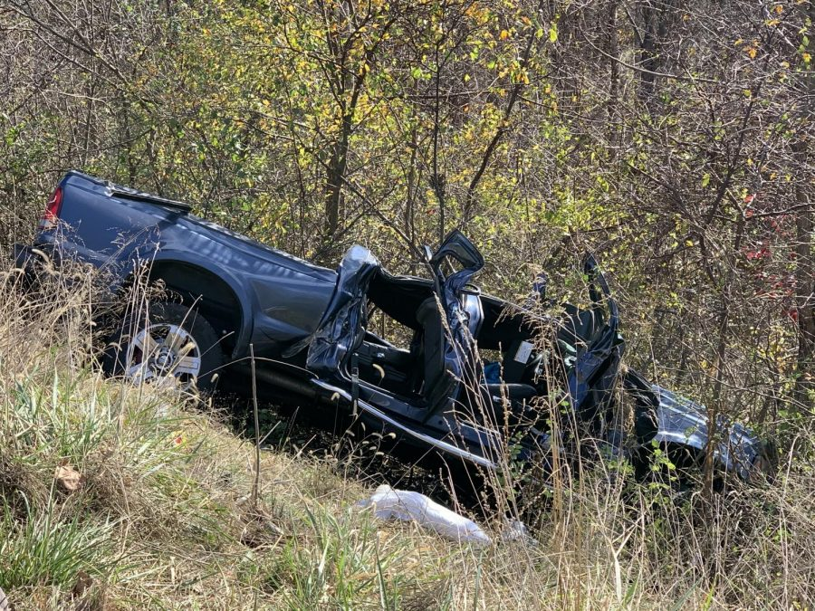 AirEvac+lands+on+I-70%2C+transports+injured+to+Grant+Hospital+following+collision+Sunday