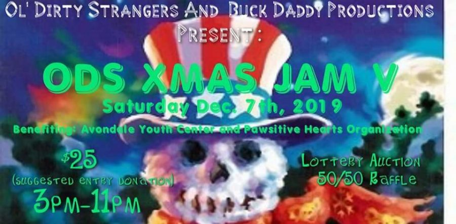Fifth+Annual+%E2%80%98Ol%E2%80%99+Dirty+Christmas%E2%80%99+Holiday+Jam+to+benefit+local+charities+Saturday